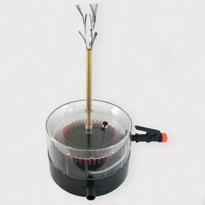 Lavadora de botellas hidráulica italiana