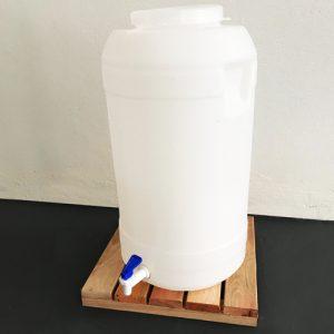Fermentador 28 litros cilindrico