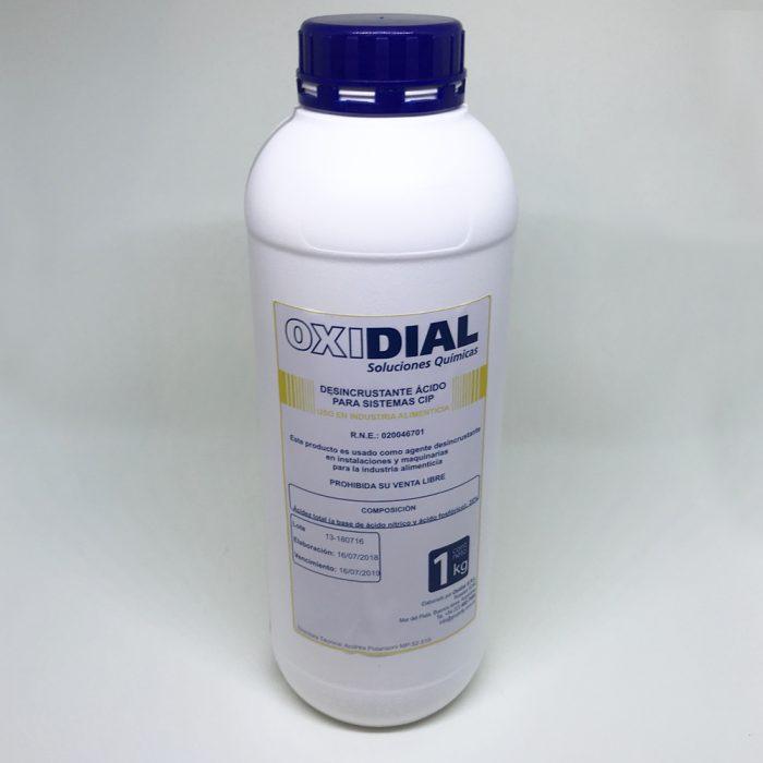 Desincrustante Ácido – Oxidial