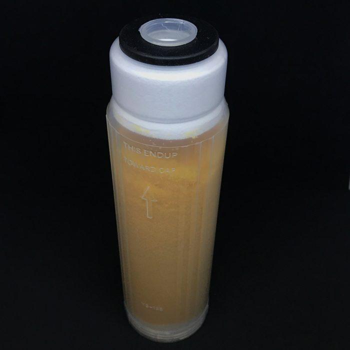 Filtro de resina catiónica 10″